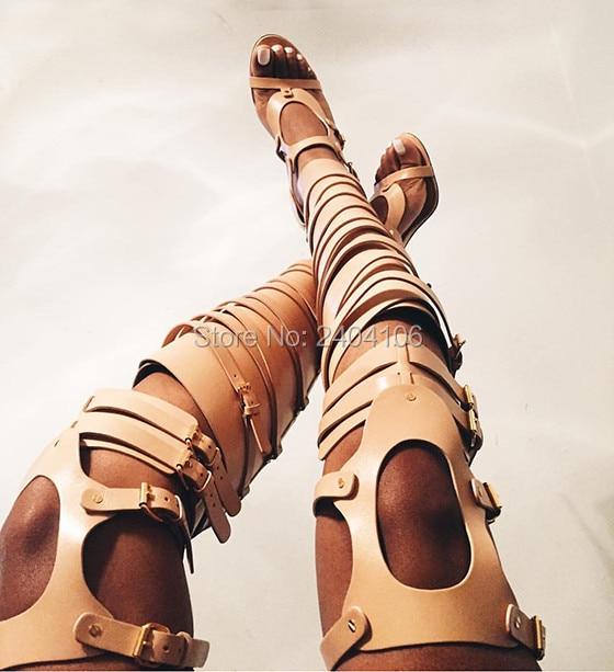 Stivali Tacchi Pic Oro Argento Alti Gladiatore Metallic as Donna Feminino Pic Con Cut Sapato Sandali Estate Outs Scarpe As Overknee Il Cinturino zA7fgHwx