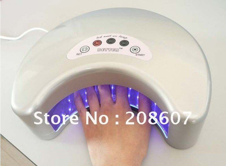 Free Shipping LED Nail UV Lamp Machine/12W Nail Art Machine,Nail ...