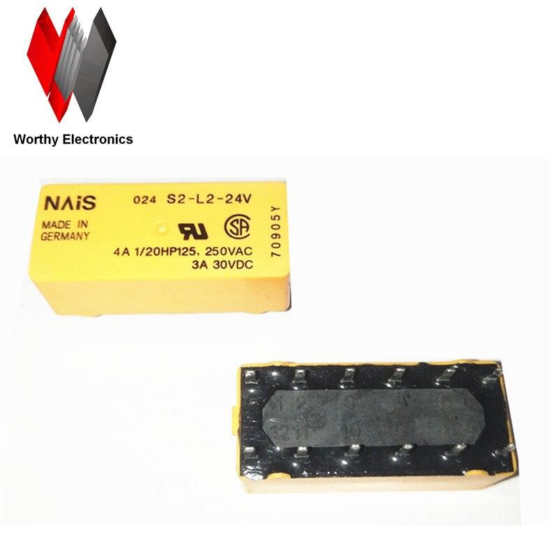 wholesale  10pcs/lot   relay   S2-L2-24Vwholesale  10pcs/lot   relay   S2-L2-24V