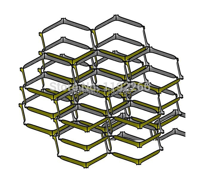 Grafito Modelo Lz 23210 3 Capas 7 Carbono Hexágonos Grafito