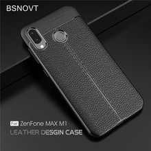BSNOVT For ASUS Zenfone Max M1 ZB555KL Cover Shockproof Luxury Leather TPU Case For ASUS Zenfone Max M1 ZB555KL Fundas 5.5
