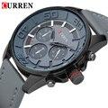 Relogio Masculino Curren часы мода мужчины кварцевые часы кожи для человека роскошные марка кожаный ремешок военные часы