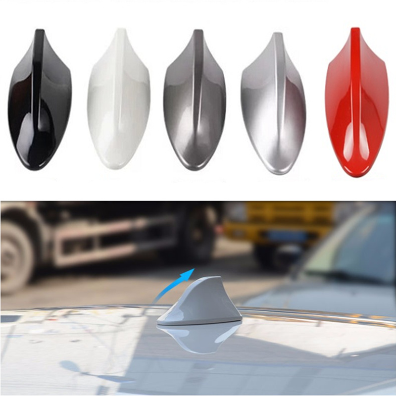 Car Shark Fin Antenna Auto Radio Signal Aerials for Land Rover LR4 LR3 LR2 Range Rover Evoque Defender Discovery Freelander