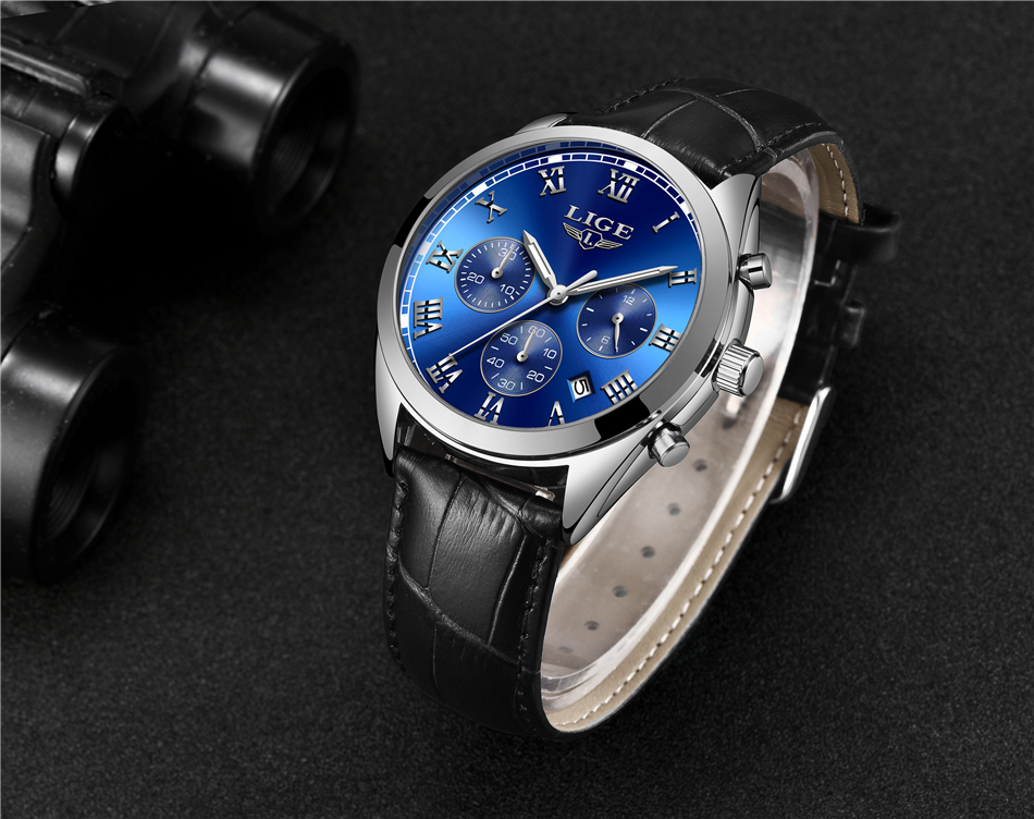 HTB1ec42hFooBKNjSZPhq6A2CXXaX 2020 LIGE Mens Watches Top Brand Luxury Waterproof 24 Hour Date Quartz Clock  Male Leather Sport Wrist Watch Relogio Masculino