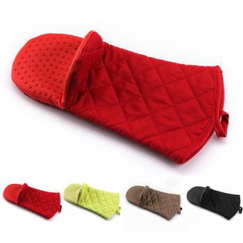 Microwave Oven Mitts Glove For Home And Restaurants Baking To Comfortable And Soft Grip