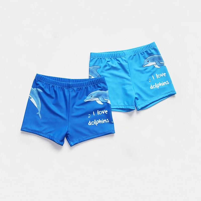 Schwimmkleidung 1-4y Jungen Badeanzug Zwei Stücke Sonnencreme Langarm Rash Guard Set Bademode Für Ein Junge Delphin Druck Blau Schwimmen Bade Anzug Mutter & Kinder