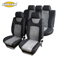 SUEDE VELOUR Material Car Seat Covers Quilting Super Warm Super Soft Fit For Winter Full Seat