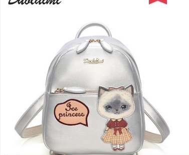 Princess sweet lolita bag The Korean version of the backpack the girl's personality trend the college students women DML098 ins cherry powder test watch women junior high school students korean version of the simple dream trend retro cute soft sister