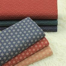 half yard import soft breeze geometric tortoise shell print fabric, handmade DIY patchwork garment sewing cloth 100% cotton A810
