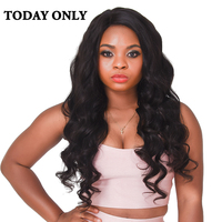 Today Only Brazilian Body Wave Hair Bundles 100 Human Hair Weaving Non Remy Brazilian Hair Weave