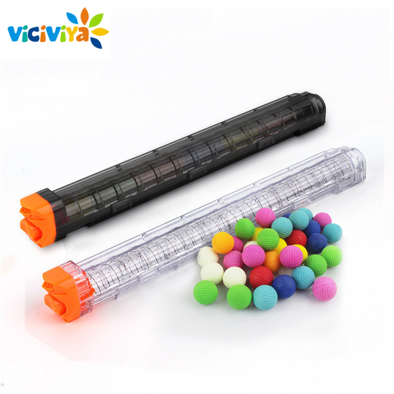 High Quality Ball Bullets For Rival Zeus Apollo Nerf Toy Gun Soft Round Darts With 12 Bullets Reload Clip Toys For Boys
