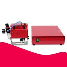 Портативная металлическая пневматическая точечная маркировочная машина для vin-кода(80*20 мм) машина для маркировки рамы номер шасси 220 В/110 В