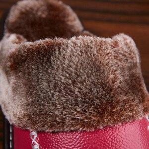 Image 4 - Mntrerm الشتاء شبشب رجالي جلد طبيعي المنزل داخلي عدم الانزلاق الحرارية أحذية الرجال 2020 جديد دافئ شبشب شتوي حجم كبير