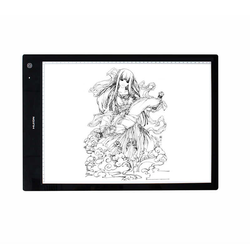 Huion LB3 Wireless Tracing Light Box New Battery Powered