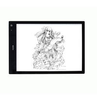 HUION LB3 Wireless LED Light Pad Tracing Light Box Battery Powered
