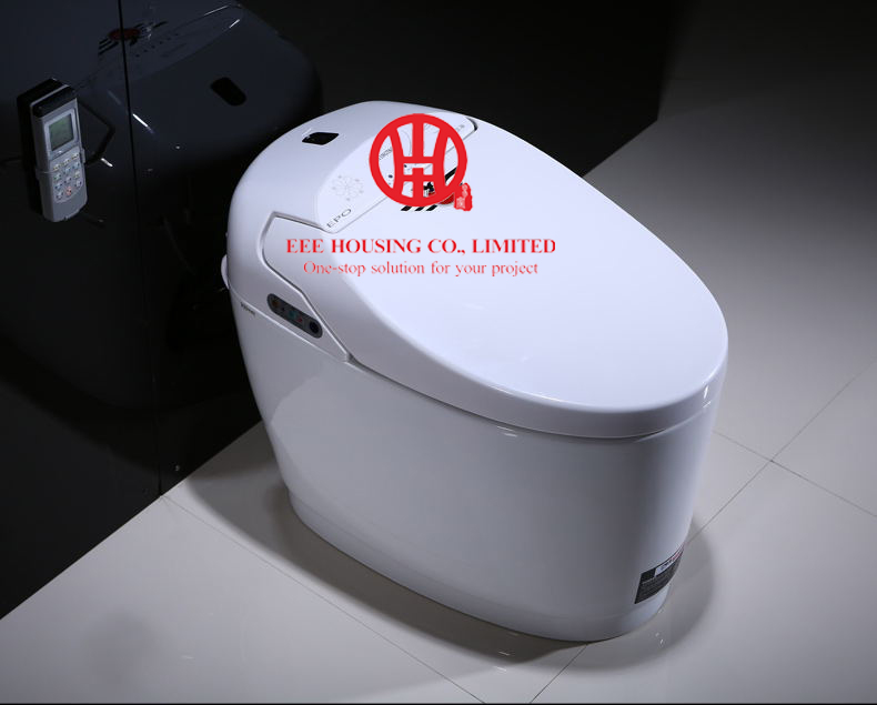 Europe Intelligent Toilet Commode Fully Automatic Flushing Drying Toilet Seat Integrated Constant Temperature Smart Instant Hot
