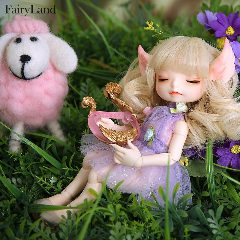 Image 3 - Кукла сказочная RealFee Haru BJD, модель 1/7, игрушки для  мальчиков и девочек, кукольный домик, силиконовая резина, мебель для  анимеreborn girlbjd dolls fairylanddoll fairyland