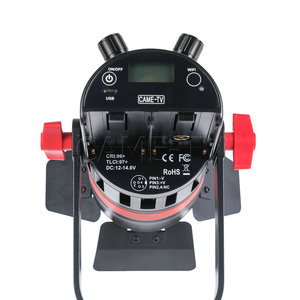 Image 4 - 3 Pcs CAME TV Q 55S Boltzen 55w Hohe Leistung Fresnel Fokussierbare LED Bi Farbe Paket Led video licht