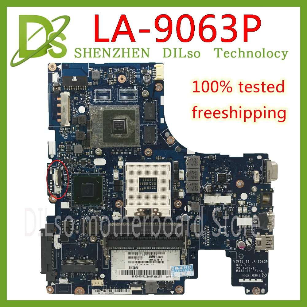 KEFU LA-9063P For Lenovo Z500 Laptop Motherboard VIWZ1-Z2 LA-9063P Z500 With GT740M Original Motherboard 100% Test Work