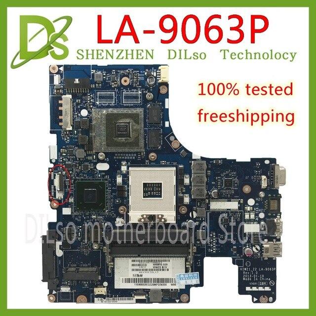 KEFU LA-9063P Đối Với Lenovo Z500 máy tính xách tay bo mạch chủ VIWZ1-Z2 LA-9063P Z500 với GT740M bo mạch chủ gốc 100% công việc Kiểm Tra