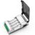 Palo c905w 4 slots display lcd inteligente carregador inteligente para aa aaa nimh nicd baterias recarregáveis + 4 pcs aaa 1100 mah baterias