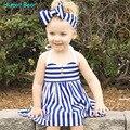Humor bear niñas marca vestido de princesa dress kids clothes lemon diseño de impresión para las niñas visten ropa de los niños
