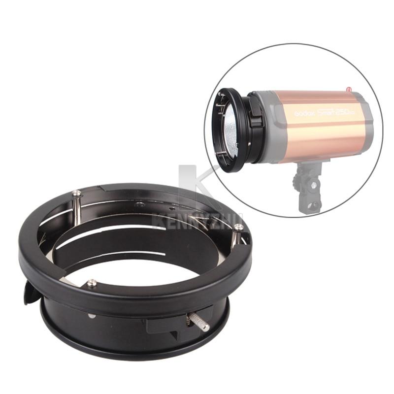 Godox 9.8cm Universal Flash Mount To Bowens Mount Ring Adapter For Softbox Beauty Dish Strobe K150A K180A 250DI 300DI 250SDI