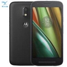 """מוטורולה Moto E3 כוח Smartphone 5.0 """"2 GB RAM 16GB ROM MTK 6735 Quad Core 3500mAh אנדרואיד 6.0 8.0MP + 5.0MP 1280x720 4G LTE טלפון"""