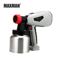MAXMAN 800ml Airbrush Electric Paint Spray Gun 800W Professional Sprayer Painting Atomizer Tool with Funnel for Painting Car