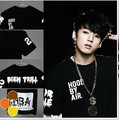 The new 2016 summer wear bulletproof youth club HBA Hood By Air men round collar short sleeve BTS T-shirt half sleeve costumes