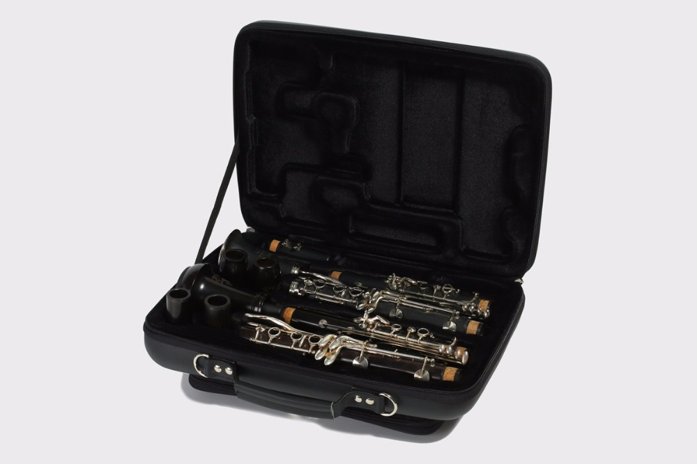 PU shaped Double Clarinet case for A and Bb Clarinet david etheridge clarinet for dummies