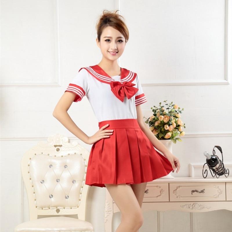 7-colors-Japanese-school-uniforms-anime-COS-sailor-suit-tops-tie-skirt-JK-Navy-style-Students (2)