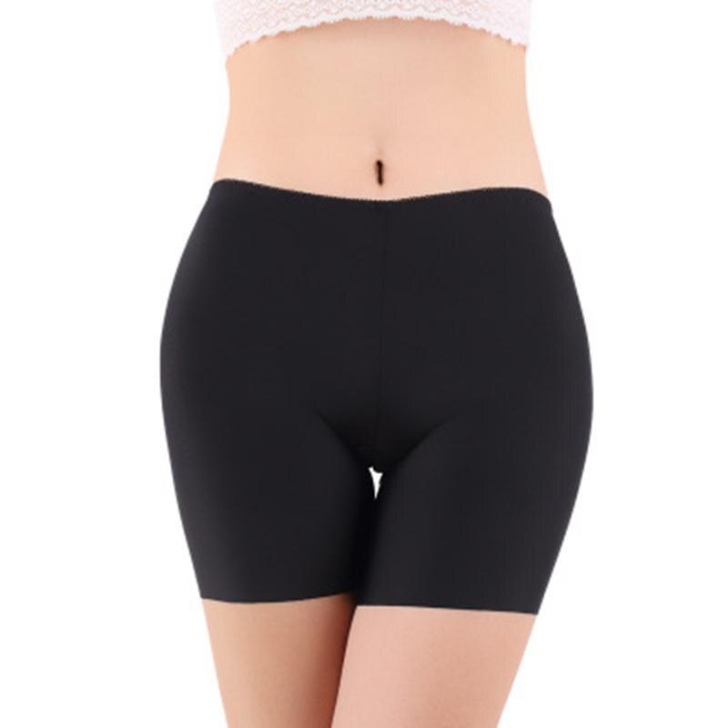 2018 Summer High Waist Safety Short Pants Underwear Cottton Women Boxer Briefs Boyshorts Sexy Womens Boyshorts Panties for Lady