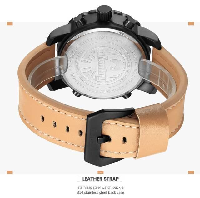 9a0cd64f542 placeholder INFANTARIA Mens Relógios Top Marca de Luxo Relógio Militar  Analógico Digital Homens Aviador Do Exército Relógios