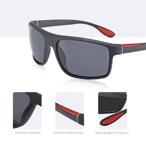Image 2 - AOFLY Fashion Polarized Sunglasses Men Luxury Brand Designer Unisex Driving Sun Glasses Male Goggles Outdoor Sports with Case