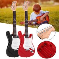 25 Inch Electric Guitar Acoustic Musical Toy Instrument Early Learning Music Toy Electric Stringed Instrument Children Kids Gift