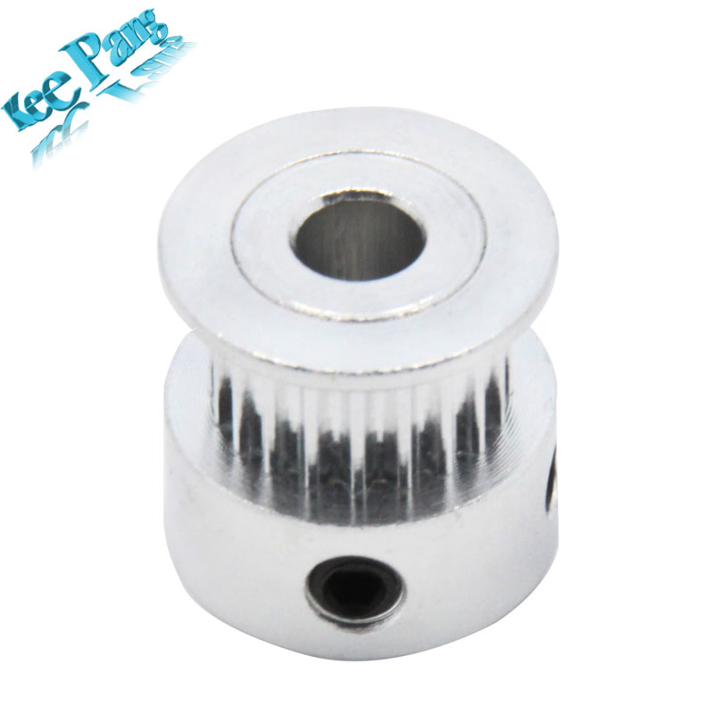 5pcs 20teeth GT2 Timing pulley Bore 8mm GT2 pulleys printer RepRap Prusa Mendel free shipping