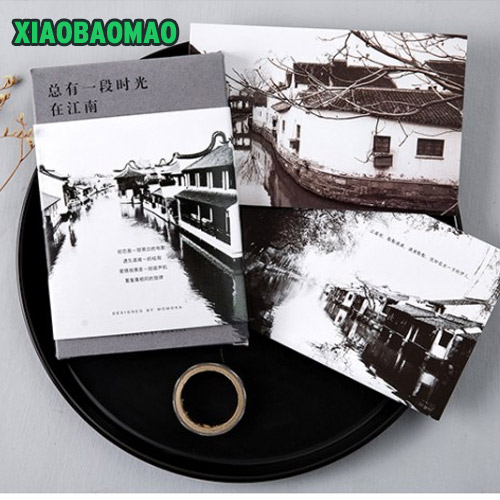 30pcs new china jiangnan landscape photography postcard stationery 30pcs new china jiangnan landscape photography postcard stationery greeting card nice gift christmas bookmarktalkfo Image collections
