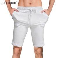 Plus Size Mens Casual Shorts 2017 Summer Cotton Men S White Shorts Men Homewear Lounge Boxer