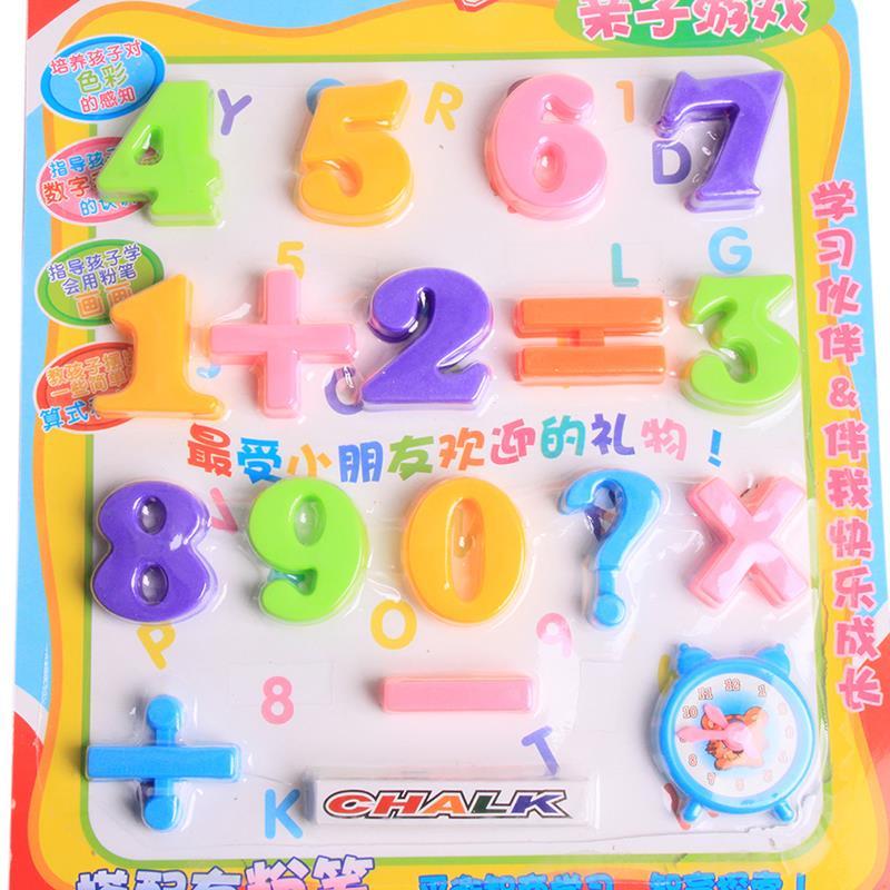 2018 Mixed Letter Number Fridge Magnets Kids Baby Lovely