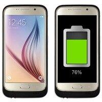 4200 mAh Taşınabilir Yedek Harici Pil Şarj Cihazı Kutu samsung S6 Güç Bankası Paketi Şarj Kılıfı Samsung galaxy S6