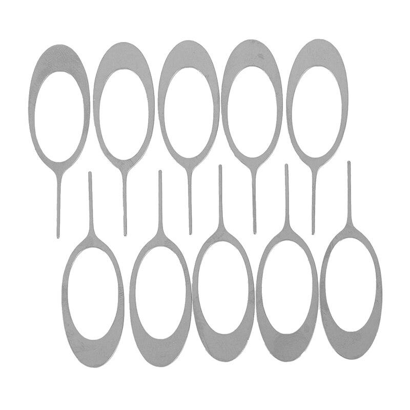 10 шт., иглы из нержавеющей стали для извлечения Sim-карты