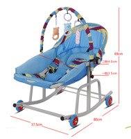 Детское музыкальное кресло качалка детская игрушка кресло качалка детское сиденье Bouncer качающаяся люлька Recliner Bouncer