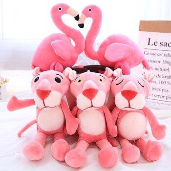 Плюшевая игрушка Фламинго и Розовая пантера