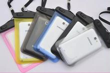 100% Selado À Prova D' Água Saco Caso Bolsa Caixa Do Telefone Para Samsung Galaxy C5/C7/borda S7/S7/S6/S5/S4/Samsung Nota 6/5/4/3/2 A Maioria Dos Telefones(China (Mainland))