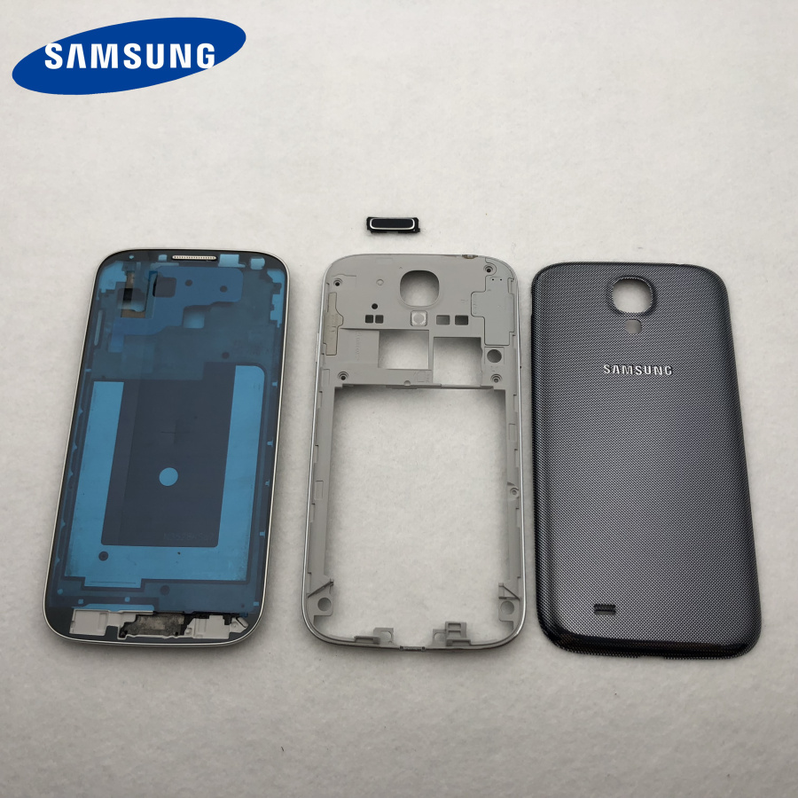 Image 3 - Full Housing Case Middle Frame+Back Cover+Glass Lens+Button Replacement Parts For Samsung Galaxy S4 i9500 i9505 9500 i337 +Tools-in Fitted Cases from Cellphones & Telecommunications