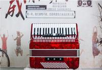 37 key accordion adult wooden instrument 96 bass accordion male and female for musical instruments gifts