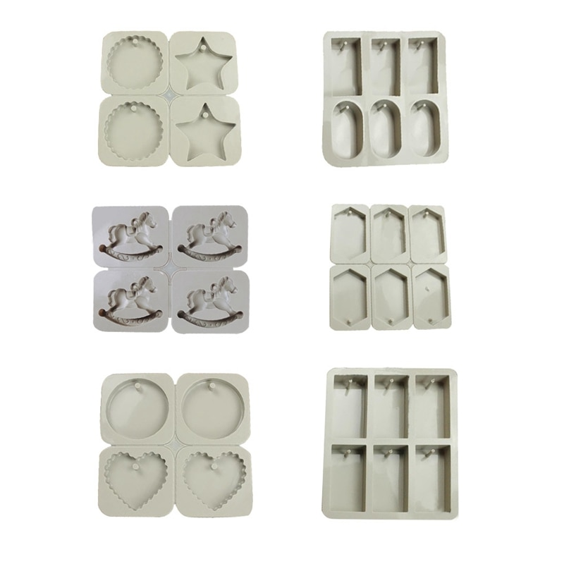 DIY Candles Mould Soy Candles Aroma Wax Tablets Silicone Mould Hand-made dried flowers Candles Silicone Mold Soap Molds