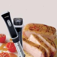 Вакуум Еда точность Плита 220 В низкая Температура медленно Пособия по кулинарии машины 1300 Вт бифштекс выпечки процессор SVC 113