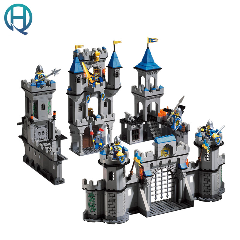 Enlighten Castle Series  Lion Castle DIY Model Building Blocks Bricks Sets Educational Birthday Gift Toys for Children Kids enlighten 325pcs set riot tracking car model building blocks toys for kids children educational assembling blocks diy bricks toy